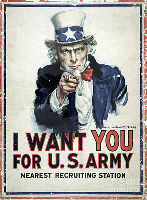 I Want You Poster  1917 Poster