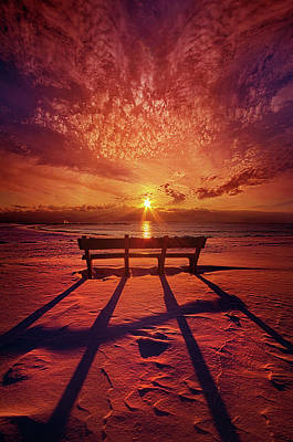 Poster featuring the photograph I Will Always Be With You by Phil Koch