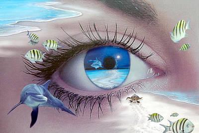 I Witness Testigo Poster by Angel Ortiz