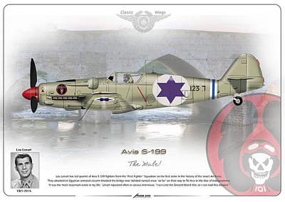 Iaf Avia S-199 Poster