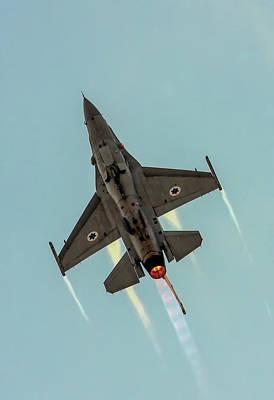 Iaf F-16i Sufa Poster