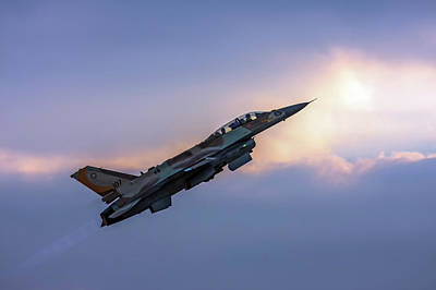 Iaf F-16i Sufa Nr. 107 Poster
