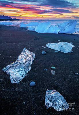 Ice Beach Poster