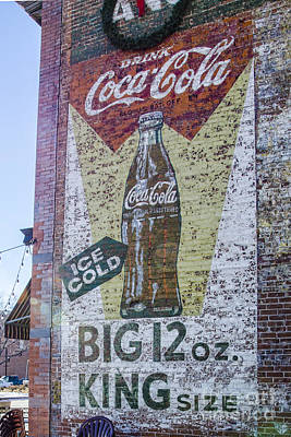 Ice Cold Coke Poster by Keith Ducker