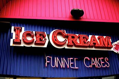 Ice Cream Anyone Poster
