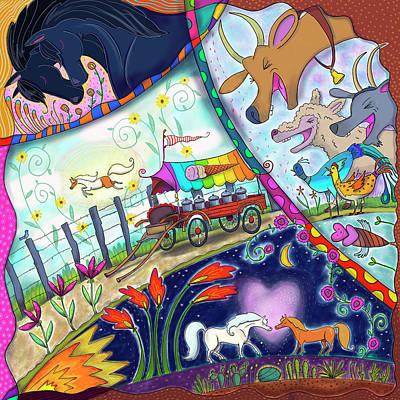Ice Cream Pony Poster