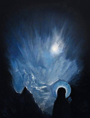 Ice Maria Poster by Aleksei Gorbenko
