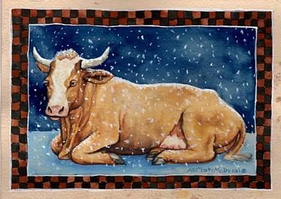 Ice Milk Poster by Beth Clark-McDonal