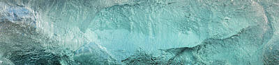 Ice Texture Panorama Poster by Andy Astbury