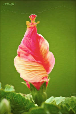 Icea Cream Flower - Pa Poster