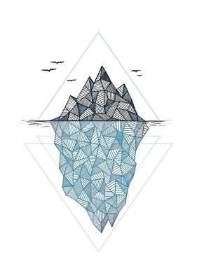 Iceberg Poster by Barlena