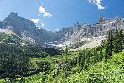 Iceberg Lake Trail - Glacier National Park Poster