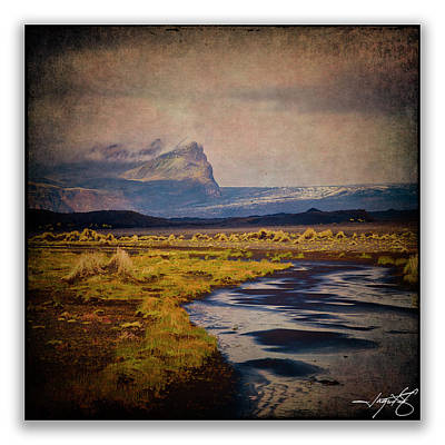 Iceland 10 Poster by Ingrid Smith-Johnsen
