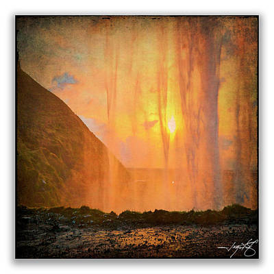 Iceland 20 Poster by Ingrid Smith-Johnsen