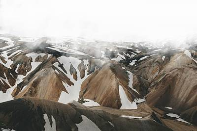 Iceland Mountains  Poster