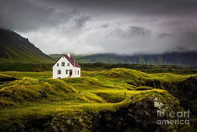Iceland Scene Poster