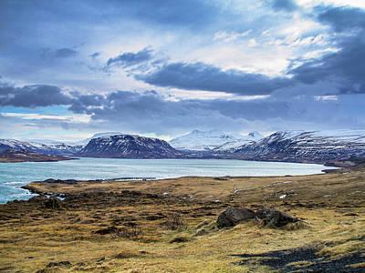 Icelandic Blues Poster