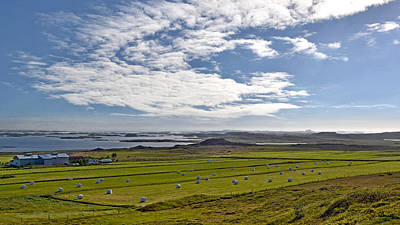 Poster featuring the photograph Icelandic Panorama by Joe Bonita