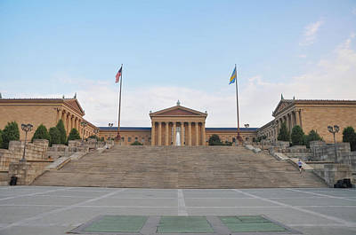 Iconic Philadelphia Art Museum Poster by Bill Cannon
