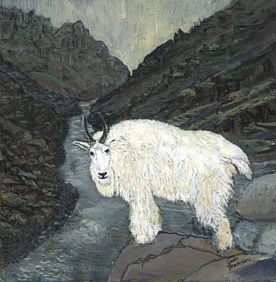 Idaho Mountain Goat Poster