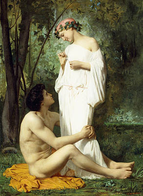 Idyll Poster by William Adolphe Bouguereau