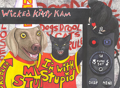 If Dogs Could Read Poster