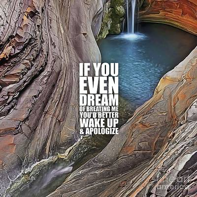 If You Even Dream... Poster