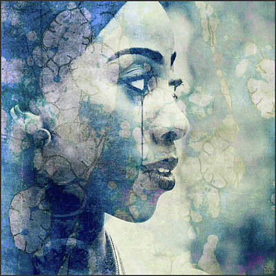 Poster featuring the digital art If You Leave Me Now  by Paul Lovering
