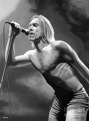 Iggy Pop Poster by Meijering Manupix