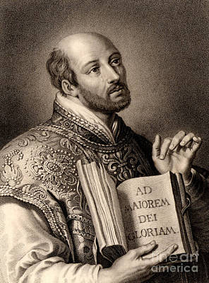 Ignatius Loyola Poster by English School