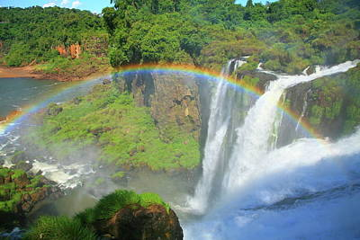 Iguazu Rainbow Poster