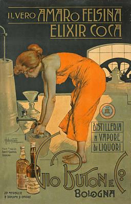 Il Vero Amaro Felsina   Poster