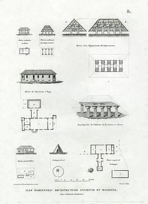 Iles Mariannes Architecture Ancienne Et Moderne Poster