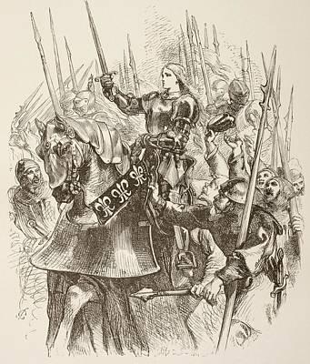 Illustration By Sir John Gilbert Of Poster