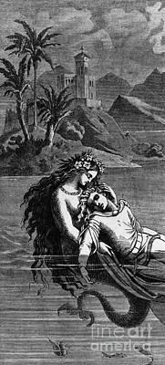 Illustration For The Little Mermaid Poster