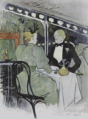 Illustration From Le Plaisir A Paris, Article In Le Figaro Illustre, July 1893 Poster by Henri de Toulouse-Lautrec