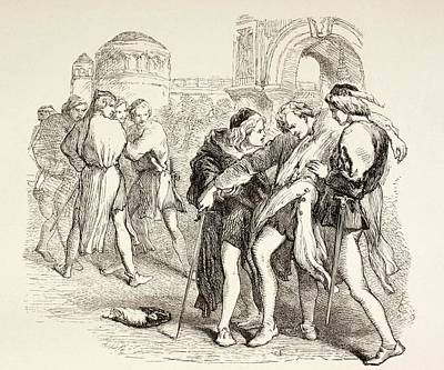 Illustration From Romeo And Juliet By Poster