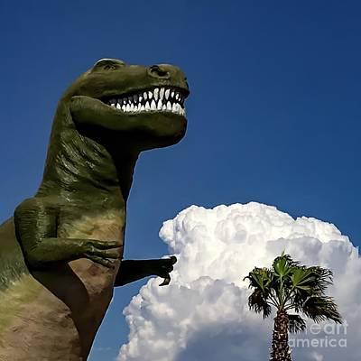 I'm A Nervous Rex Poster