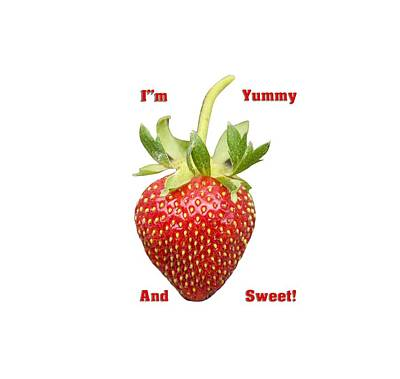 Im Yummy And Sweet Poster by Thomas Young