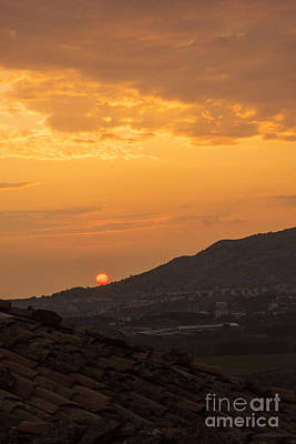 Sunrise Over Gokceada Island  Poster