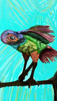 Imaginary Bird Rests Poster