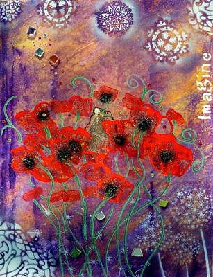 Imagine By Mimi Stirn Poster