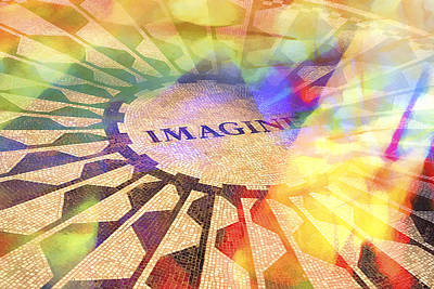 Imagine Colors Poster by Lutz Baar