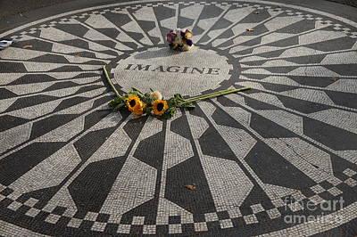 'imagine' John Lennon Poster
