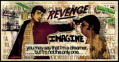 Imagine  Poster by Michael Spatola