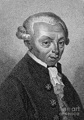 Immanuel Kant, German Philosopher Poster by Wellcome Images