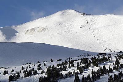 Imperial Bowl On Peak 8 At Breckenridge Colorado Poster by Brendan Reals