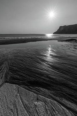 Poster featuring the photograph Impression From Talisker Beach by Davorin Mance