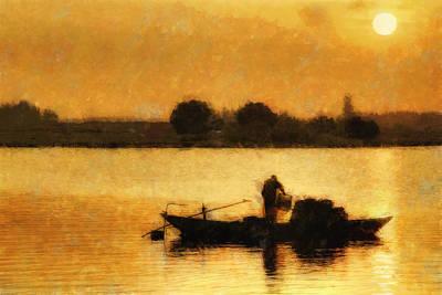 Impressionist Dawn Poster