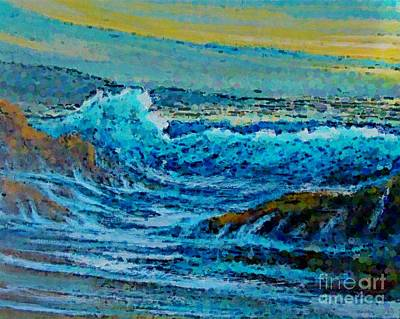 Impressionist Seascape Poster by John Malone